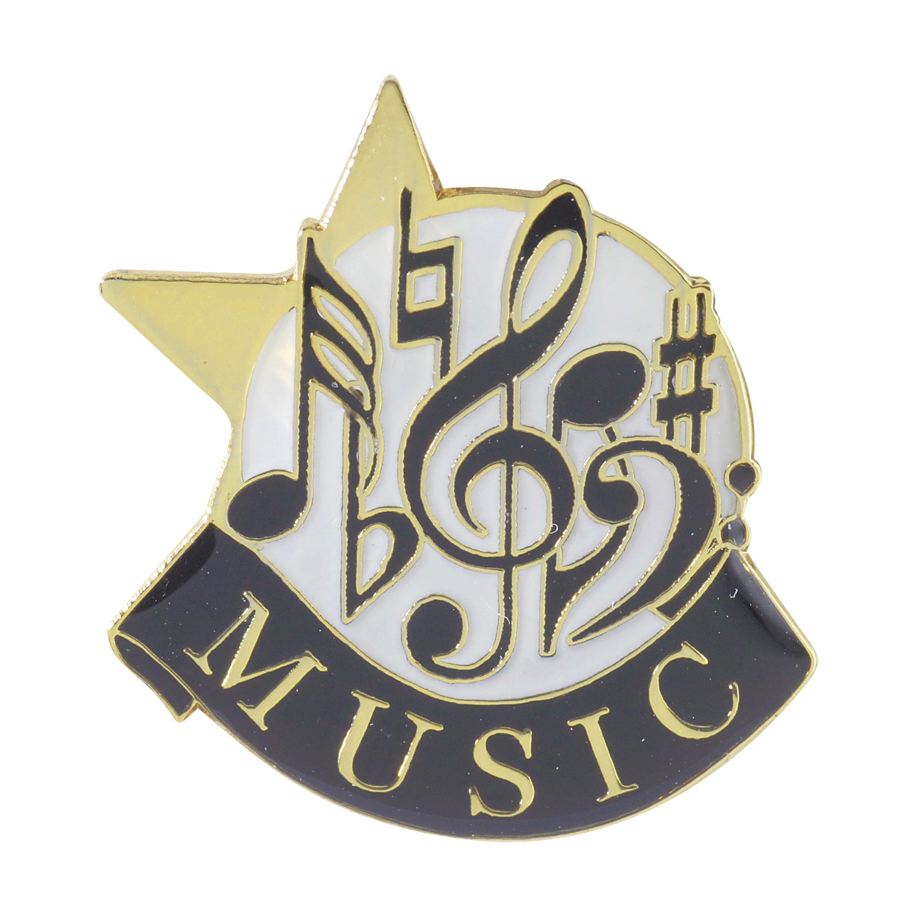 Music Recognition Pin with Box