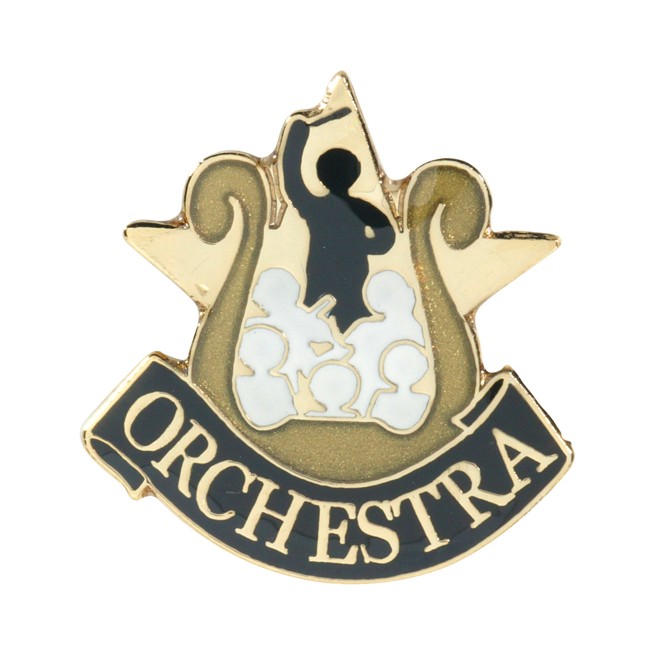 Orchestra Recognition Pin with Box