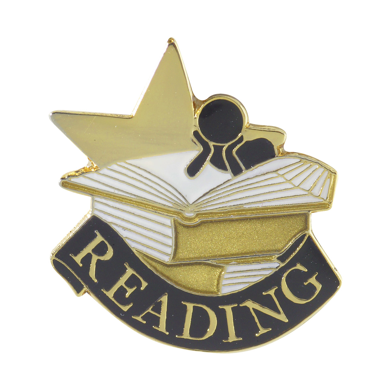 Reading Recognition Pin with Box