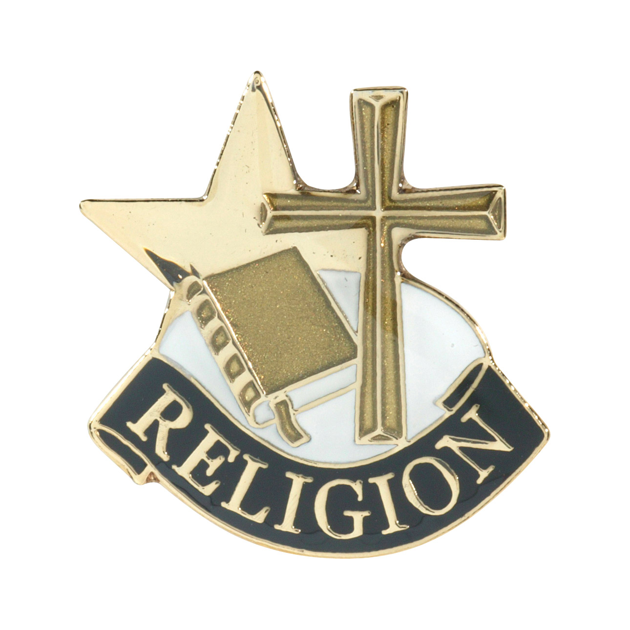 Religion Recognition Pin with Box