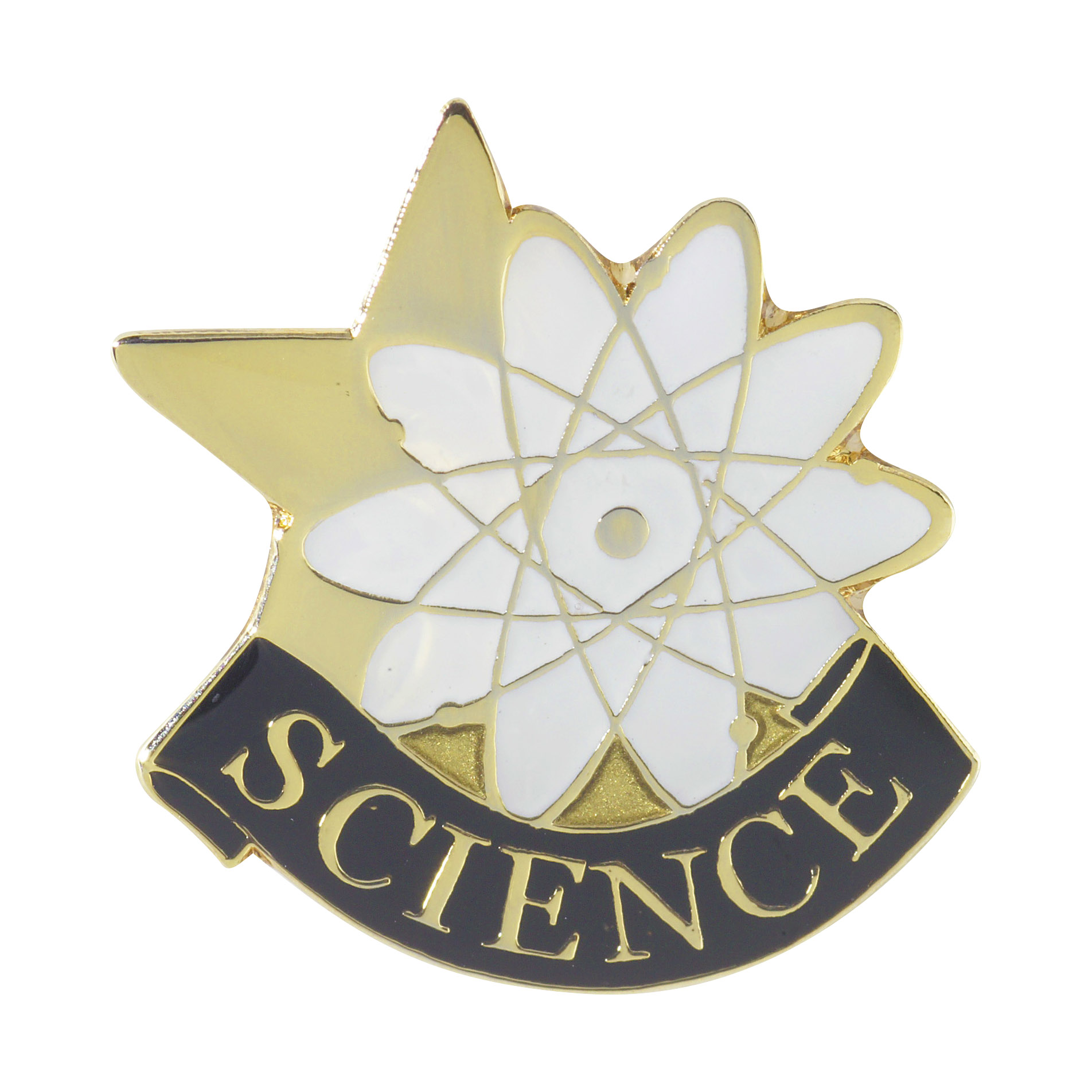 Science Recognition Pin with Box