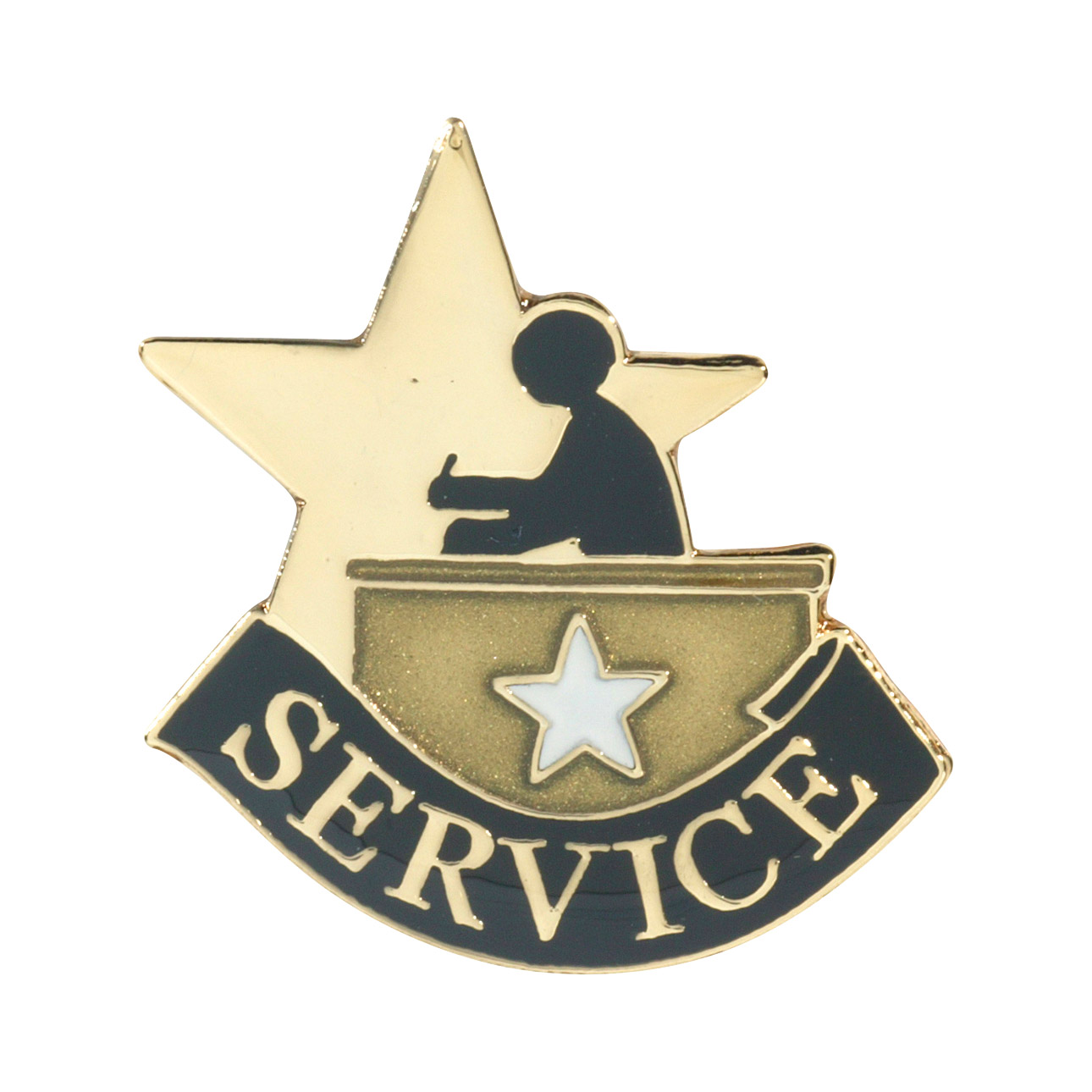Service Recognition Pin with Box