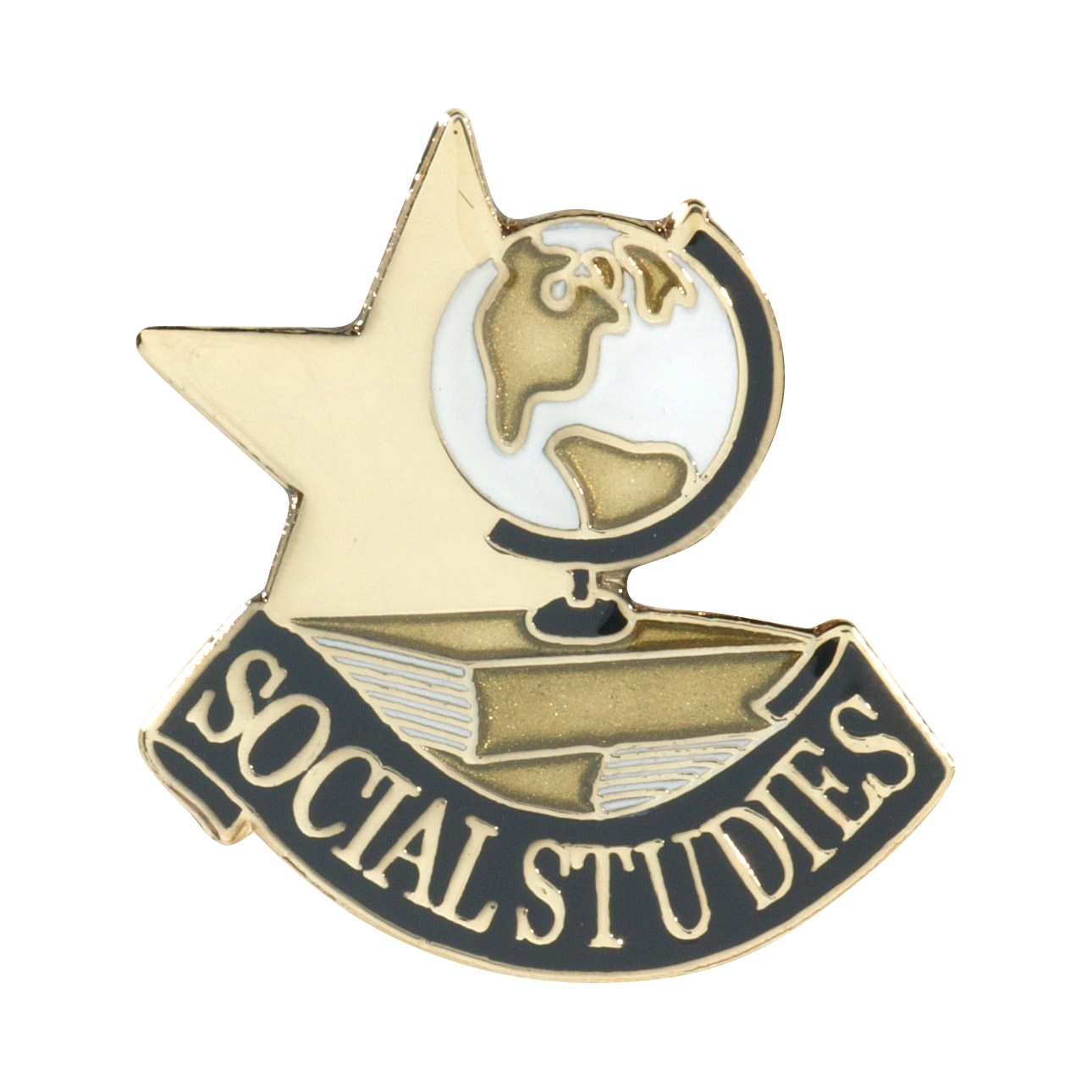 Social Studies Recognition Pin with Box