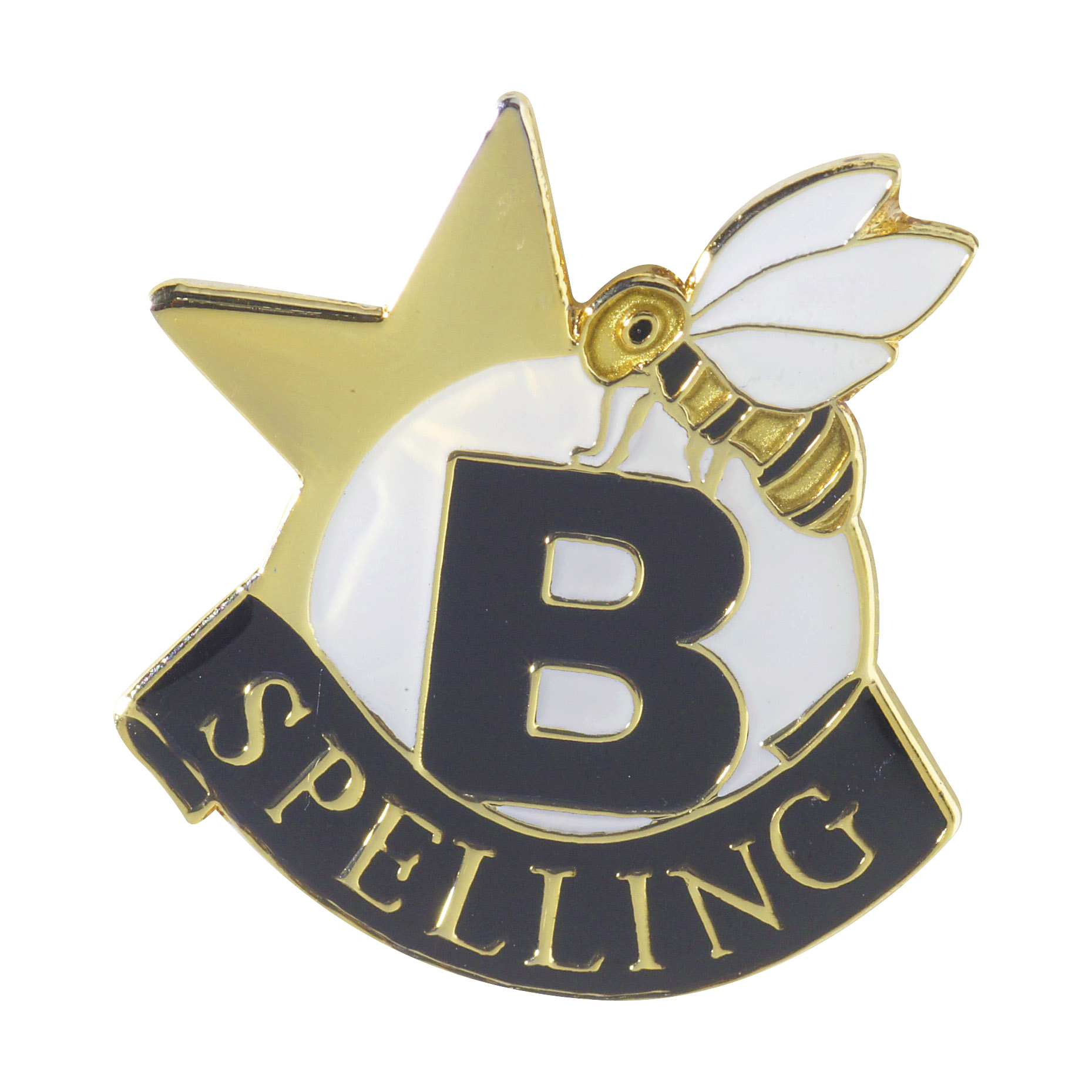 Spelling Bee Recognition Pin with Box