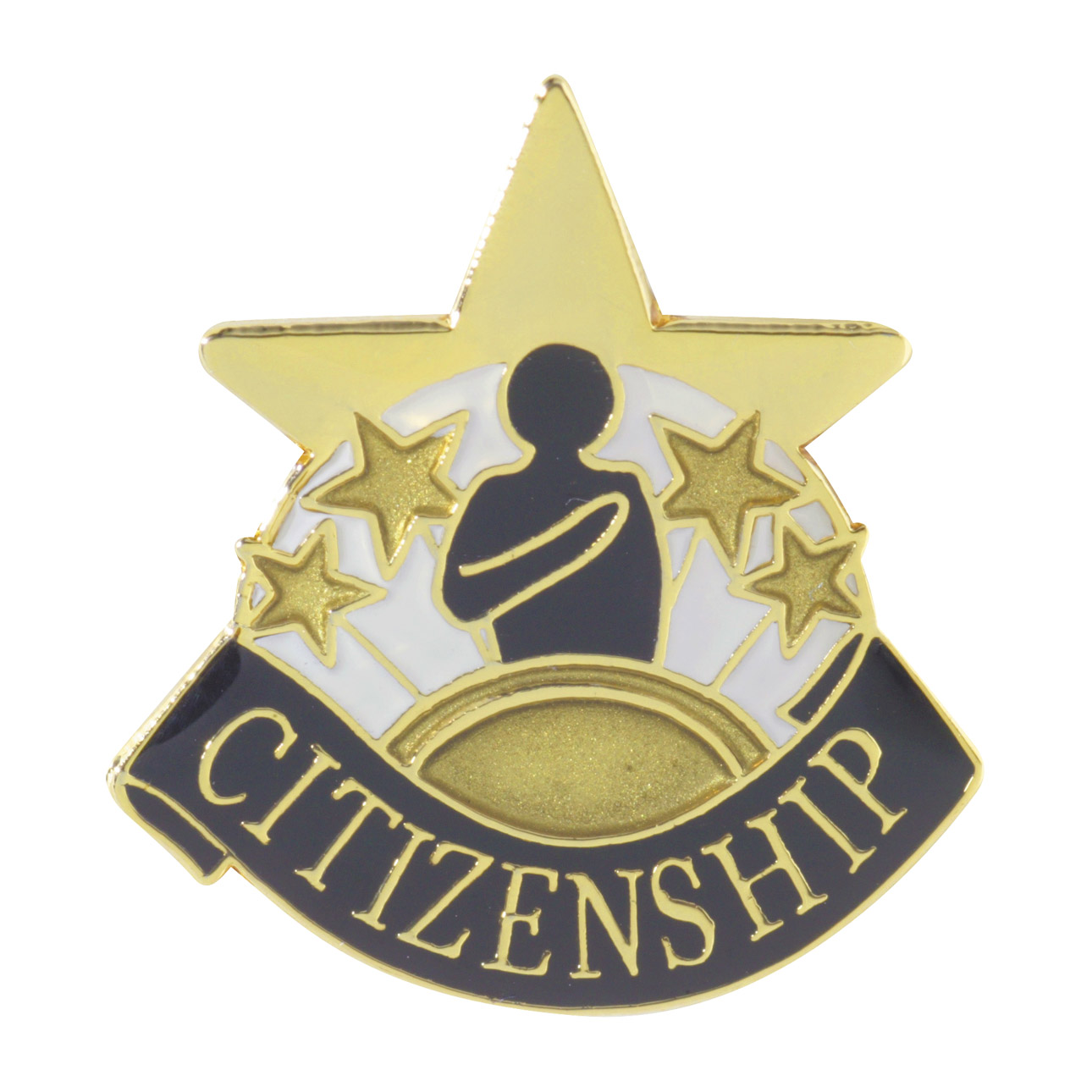 Citizenship Recognition Pin with Box