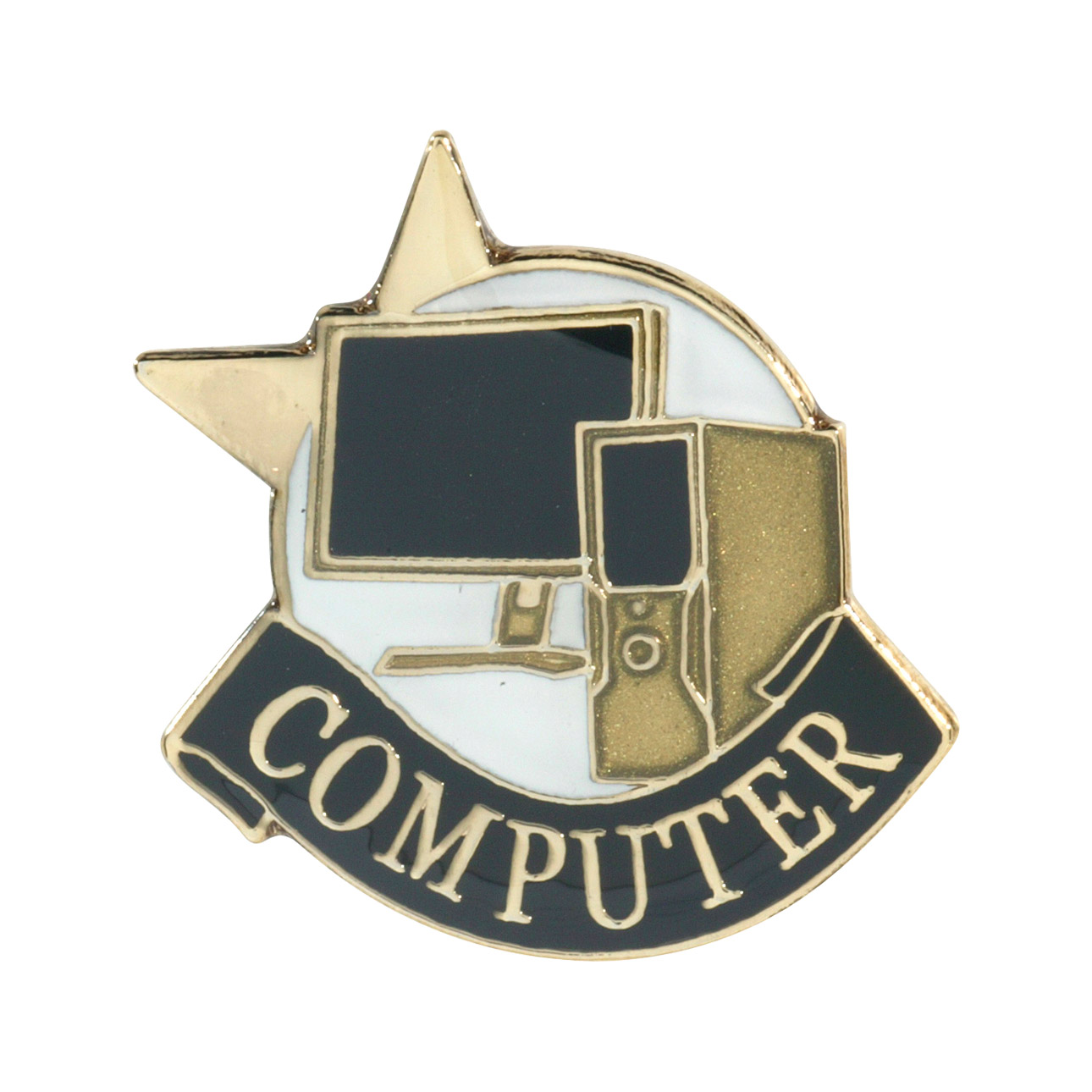 Computer Recognition Pin with Box