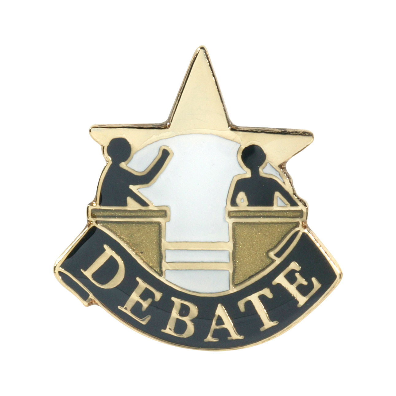 Debate Recognition Pin with Box