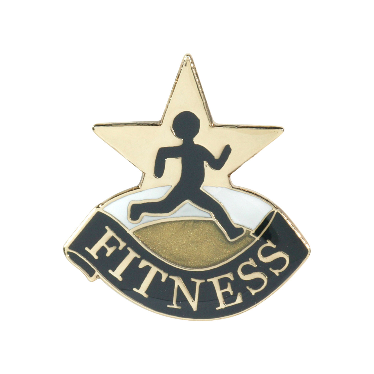 Fitness Recognition Pin with Box