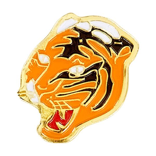 Tiger Mascot Pin
