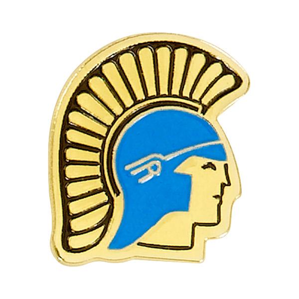 Trojan Mascot Pin