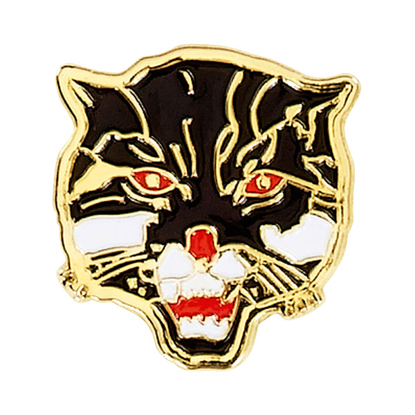 Wildcat Mascot Pin