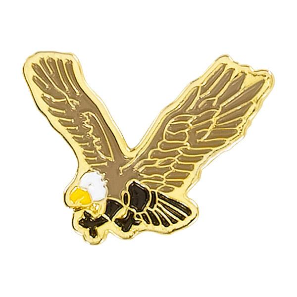 Eagle Mascot Pin