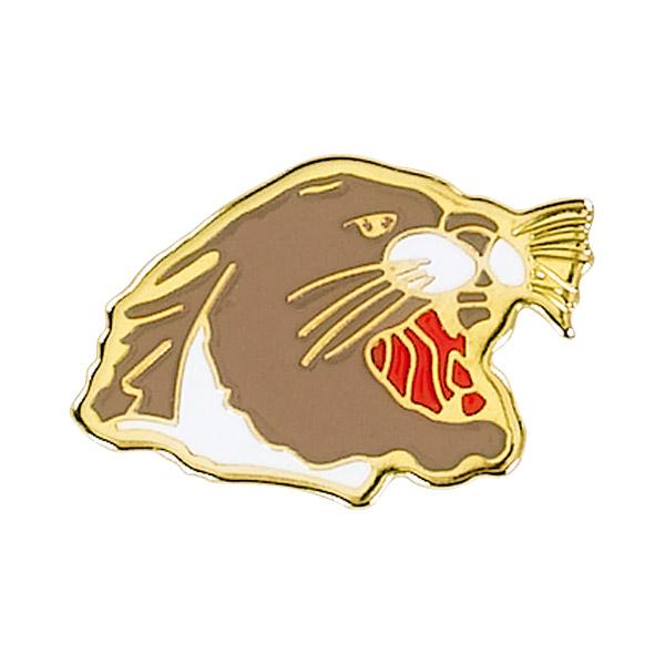 Cougar Mascot Pin