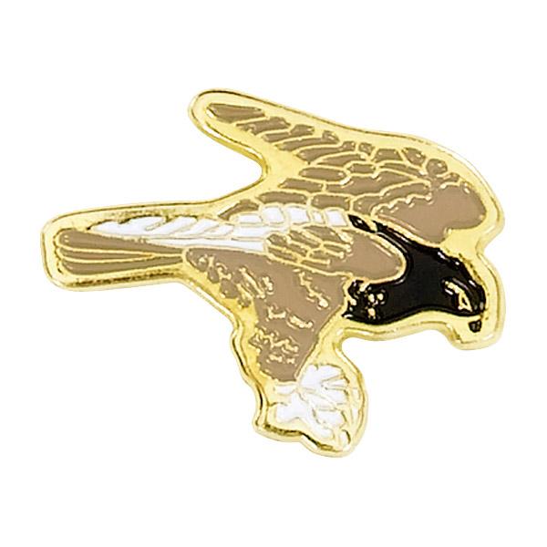 Hawk Mascot Pin