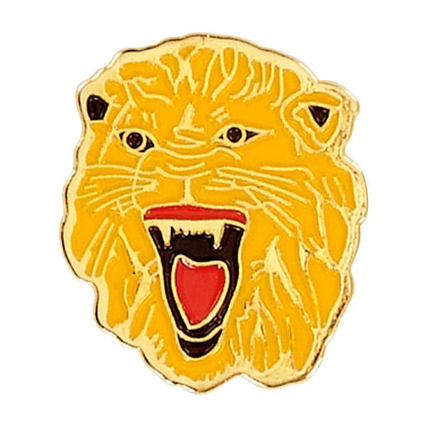 Lion Mascot Pin