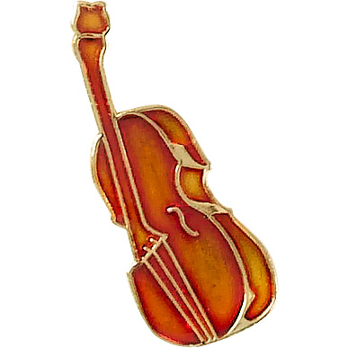 Bass/Cello Recognition Pin