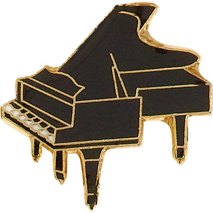 Piano Recognition Pin