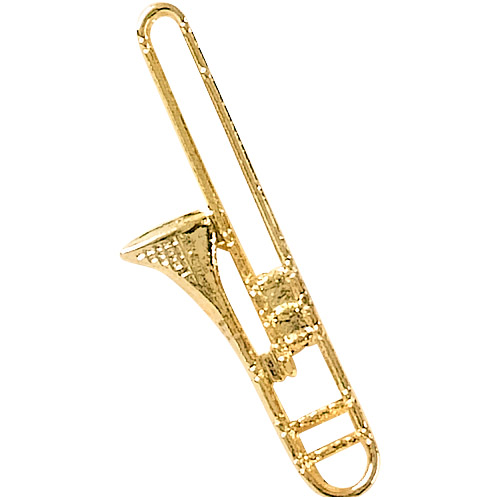 Trombone Recognition Pin
