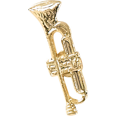 Trumpet Recognition Pin