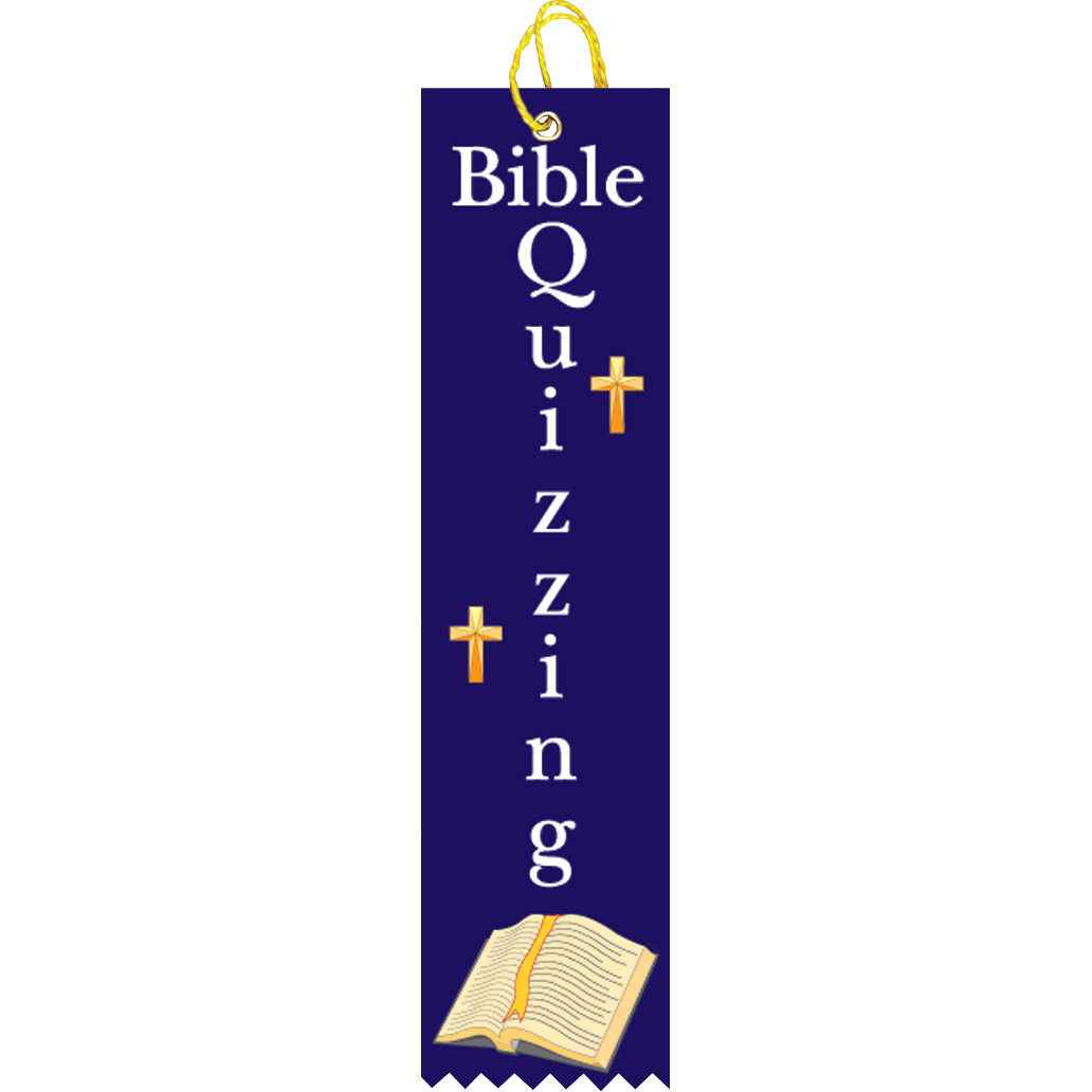 "2"" x 8"" Bible Quizzing Ribbon"