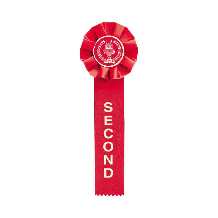Red Second Place Ribbon