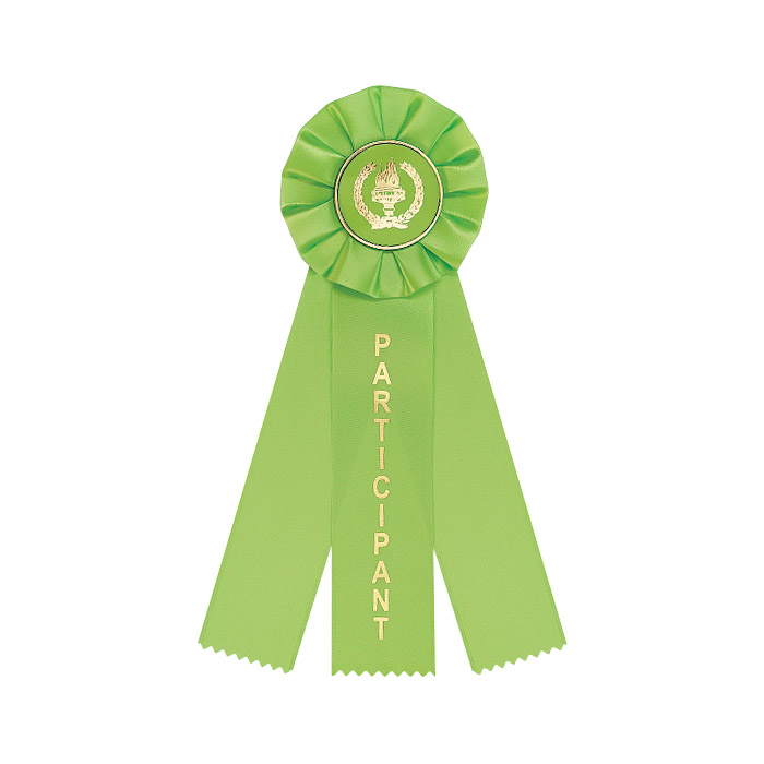 Light Green 3 Streamer Ribbon