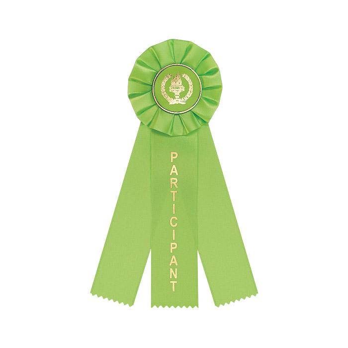 Light Green 3 Streamer Ribbon