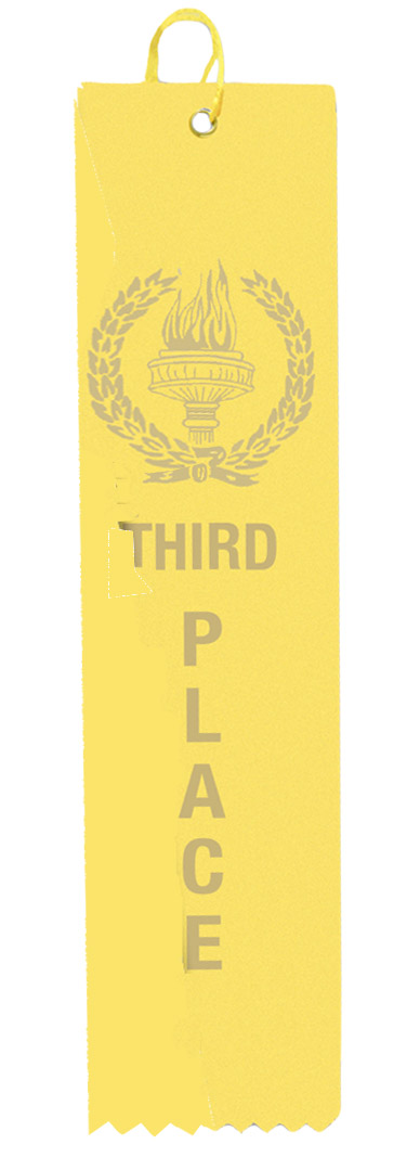 Yellow Third Place Ribbon