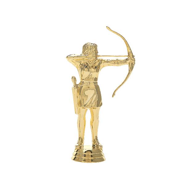 Female Archer Gold Trophy Figure