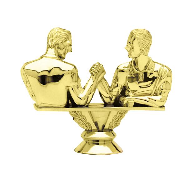 Arm Wrestler Gold Trophy Figure