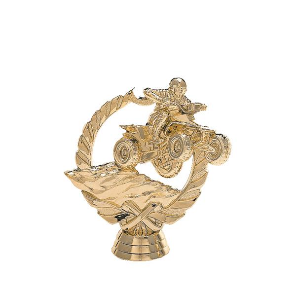 All Terrain 4 Wheeler Gold Trophy Figure