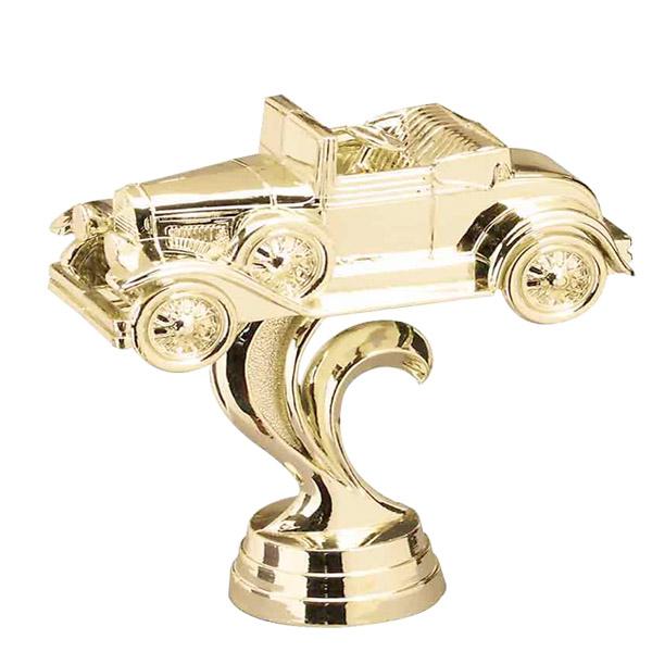 Antique Coupe Gold Trophy Figure