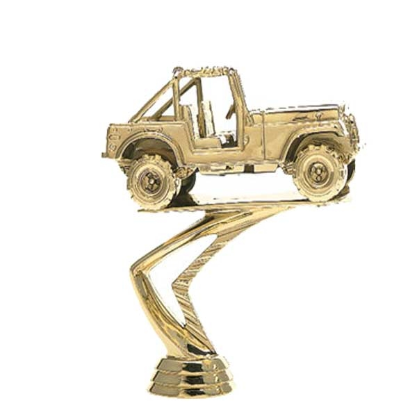 Jeep Gold Trophy Figure
