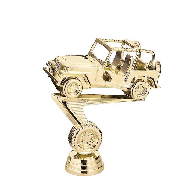 Jeep Gold Trophy Figure