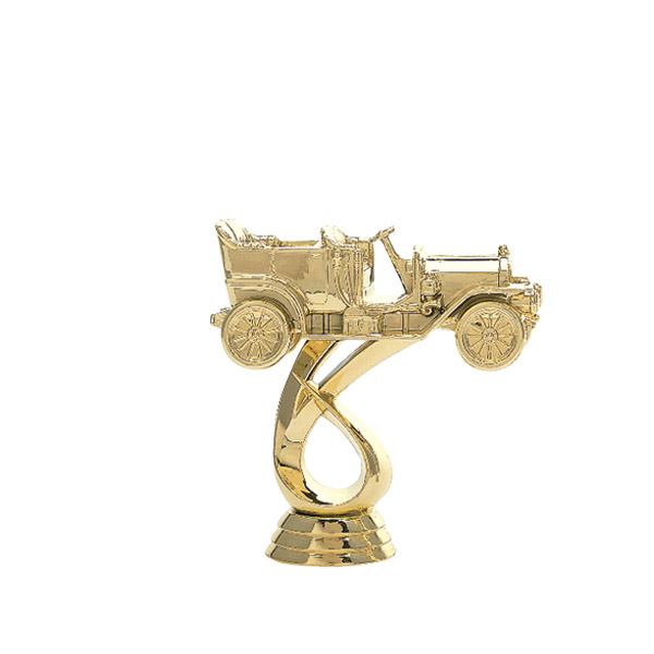 Antique Touring Gold Trophy Figure