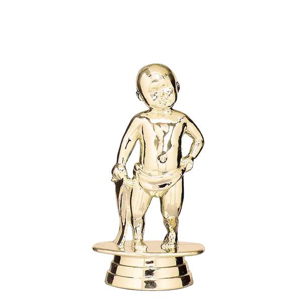 Baby Standing Gold Trophy Figure