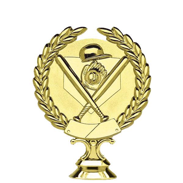 3d Baseball Gold Trophy Figure