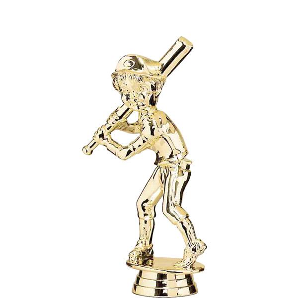 Male Baseball Tyke Gold Trophy Figure