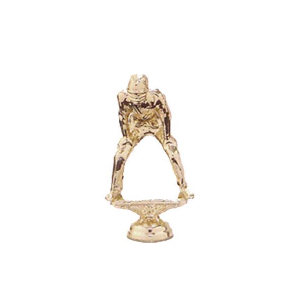 Umpire Gold Trophy Figure