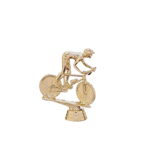 Mountain Bike Gold Trophy Figure