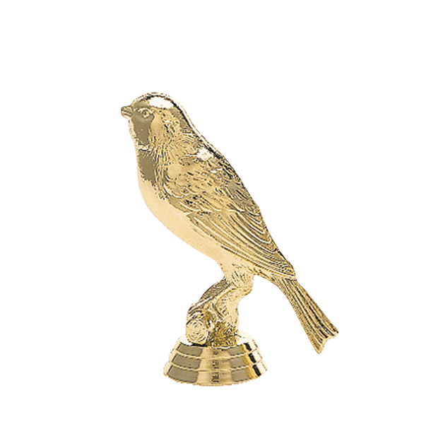 Canary Bird Gold Trophy People