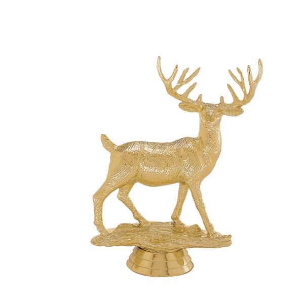 Buck Deer Gold Trophy Figure