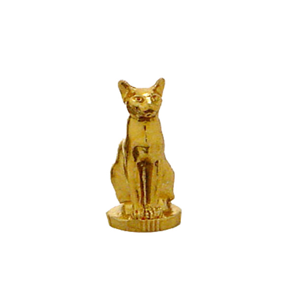 Siamese Cat Gold Trophy Figure
