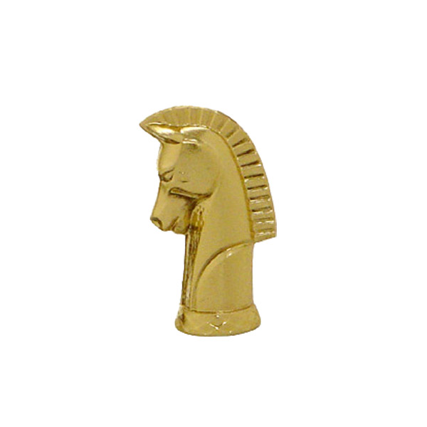 Chess Knight Gold Trophy Figure