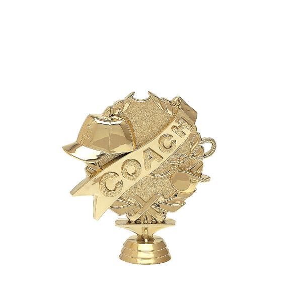 3d Coach Gold Trophy Figure