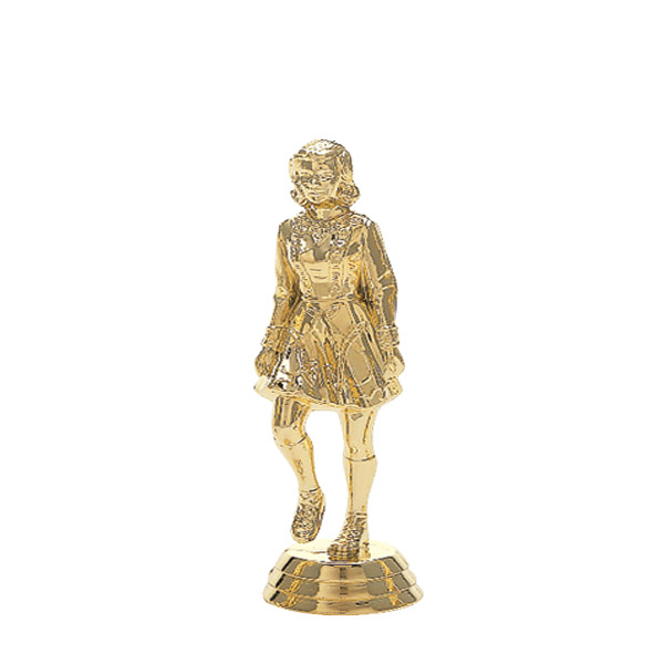 Irish Dancer Gold Trophy Figure