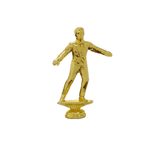 Male Tap Dancer Gold Trophy Figure