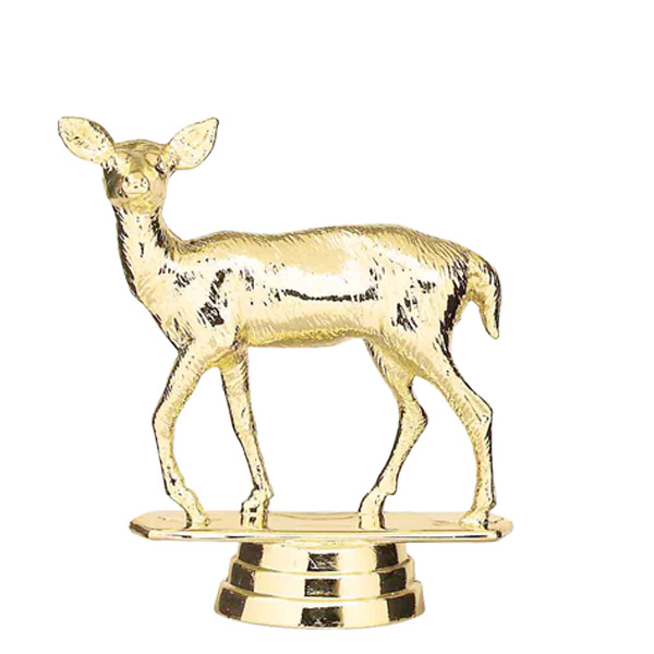 Doe Gold Trophy Figure