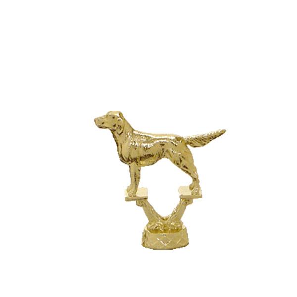 Irish Setter Dog Gold Trophy Figure