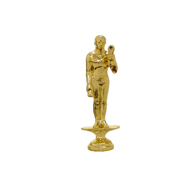 Obedience (Dog) Gold Trophy Figure